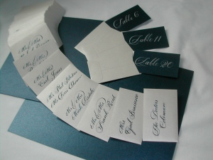 Escort Envelopes and Cards