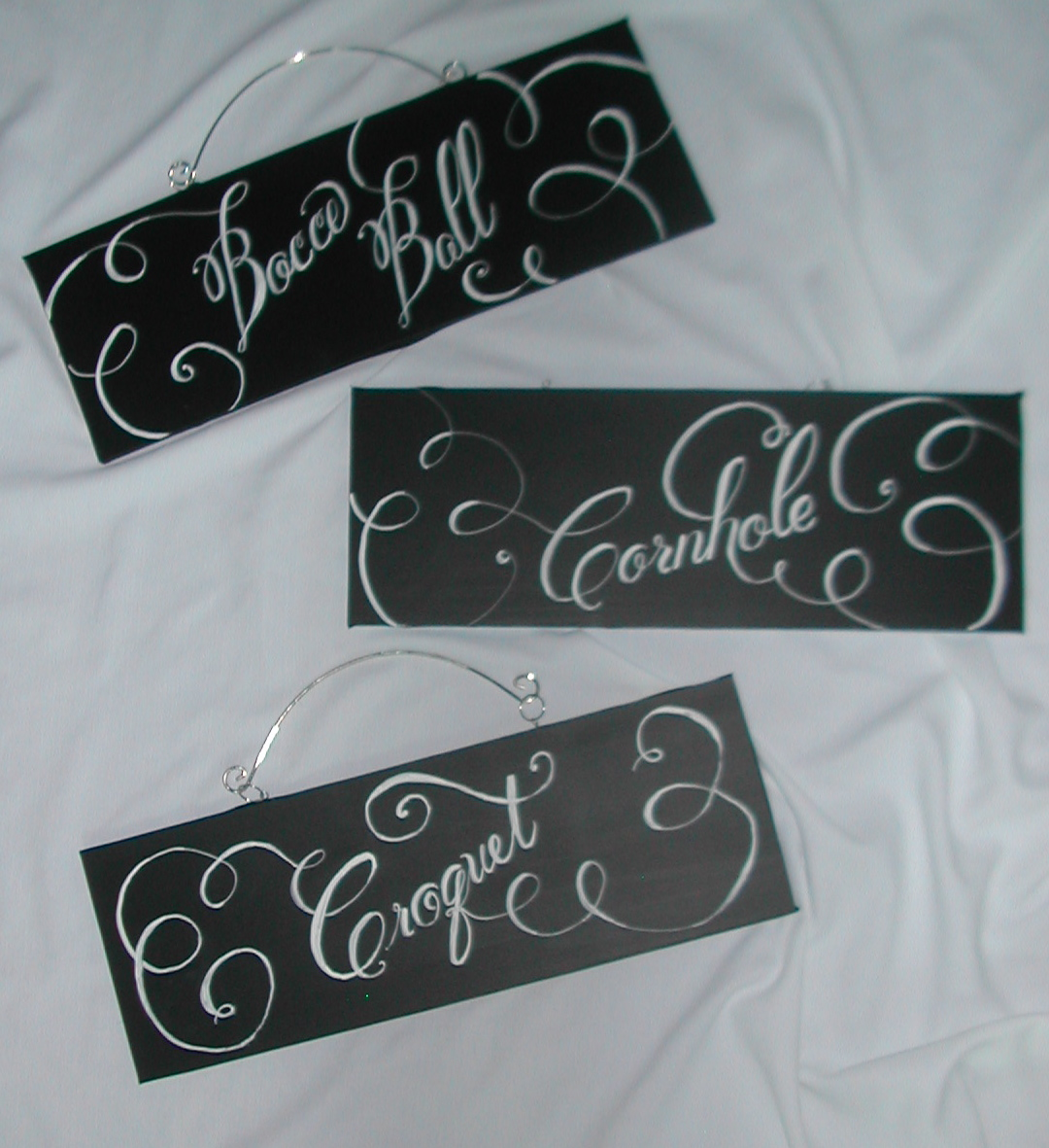 More DIY Chalkboard Wedding Signs ! Lettering Art Studio