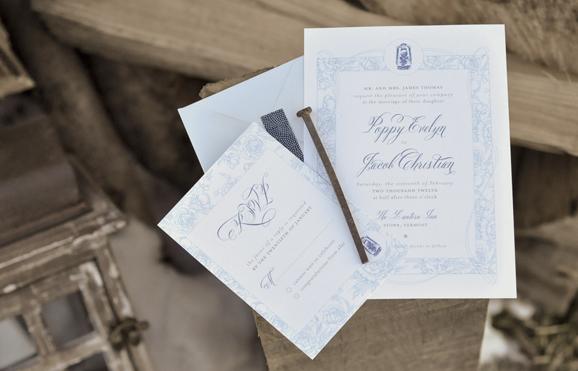wedding invitation, calligraphy font on wedding invitation