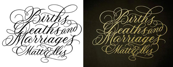 Xandra Zamora calligraphy, pointed pen, calligraphy