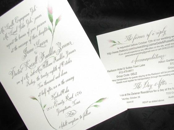 Belluccia font, Wedding invitation, cursive font, wedding font, calligraphy font