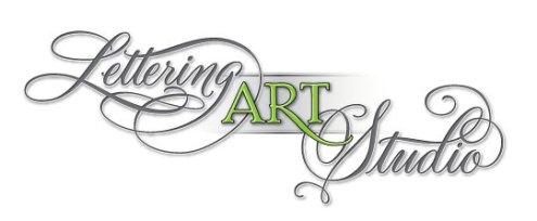 Lettering Art Studio, hand lettering, calligraphy, cursive font