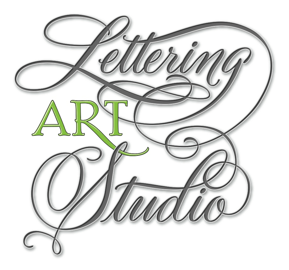 Invitations lettering art studio page 6 Calligraphy logo