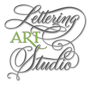 Lettering, Hand Lettering, Lettering Art Studio, cursive font, calligraphy