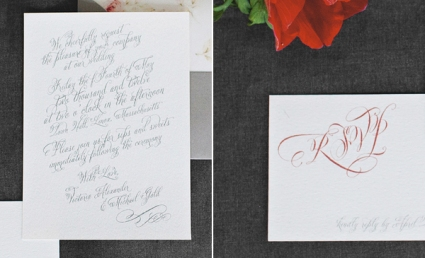 DIY Wedding Invitation, DIY Wedding, Cursive font, Wedding, Invitation
