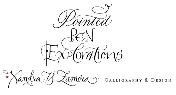 pointed pen workshop, pointed pen, calligraphy lessons, calligraphy
