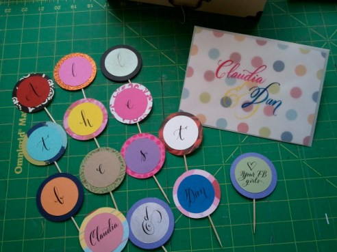 calligraphy,diy stationery, diy paper project, diy dessert