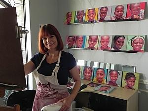 Daggi Wallace, Moni's kids, Portrait artist, Children's portratis