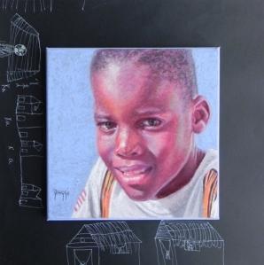 Daggi Wallace, Moni's Kids, Portrait of Child