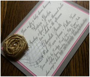 Belluccia, cursive font, calligraphy font, script font, fancy font, baby shower invitation