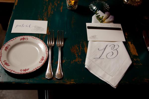 belluccia font, cursive font, script font, wedding font, calligraphy font, monogrammed napkin