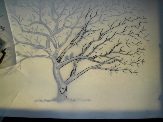 guest book, thumbprint tree, wedding sign