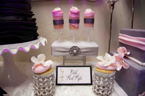 cake push pops, floral ombre cake, purcple cake, wedding signage in calligraphy,, wedding font, cursive font, fancy font, script font, place cards, paris themed wedding