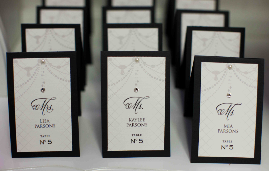 Fancy Table Numbers
