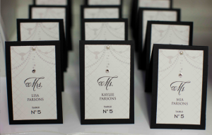, wedding font, cursive font, fancy font, script font, place cards, paris themed wedding