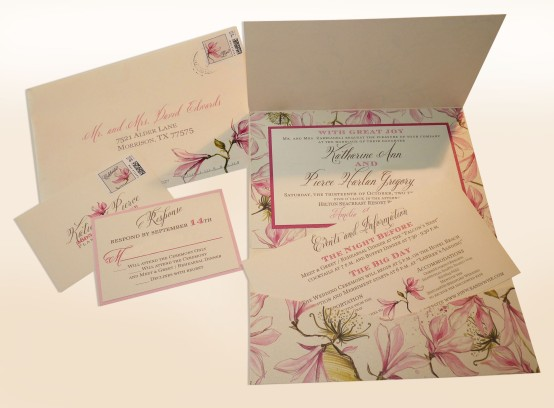 Belluccia font, Calligraphy font, Wedding invitation with Calligraphy font, Wedding font, cursive font, script font, fancy font, Envelopements Wedding Invitation suite, Envelopements Trellis Collection