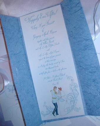 Cinderellas themed invitation, wedding invitation, Belluccia font, cursive font, calligraphy font, fancy font, script font,