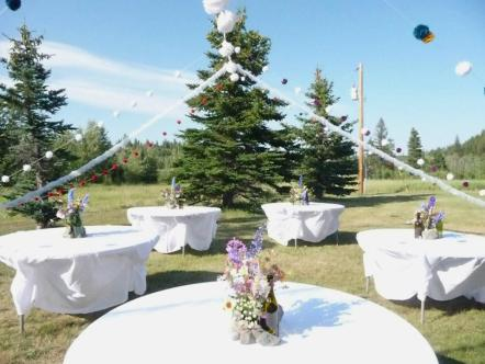 Rising Wolf Ranch, Glacier Park, Montana, Ranch Wedding