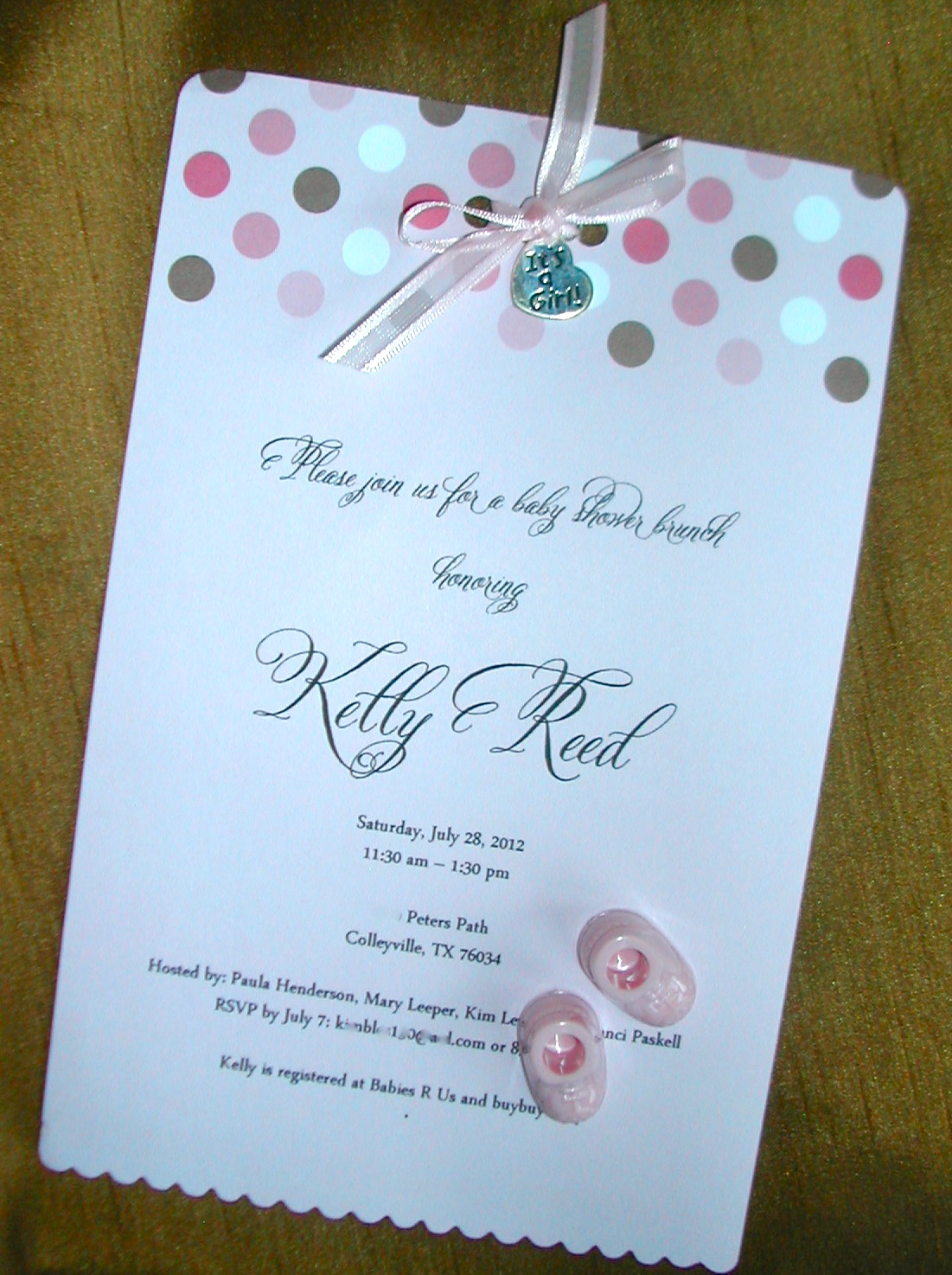 sweet diy baby shower invitation lettering art studio