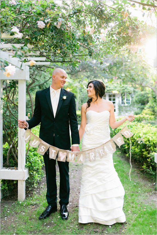 DIY Wedding Banner Instructions