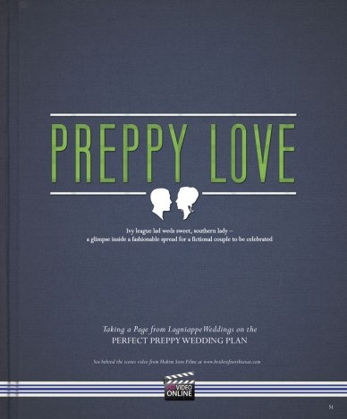 Preppy Love, Brides of North Texas, Lagniappe Weddings