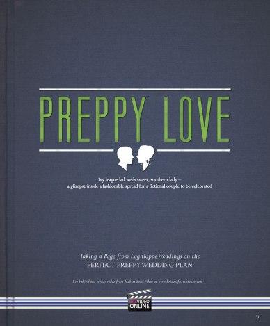 Preppy Love, Brides of North Texas, Lagniappe Weddings