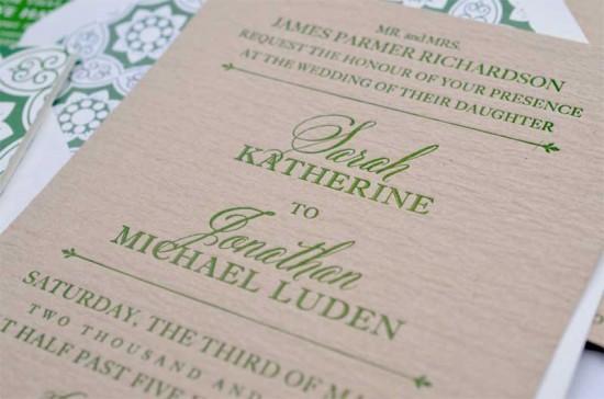 Wedding invitation – Beautiful Fonts for Wedding Invitations