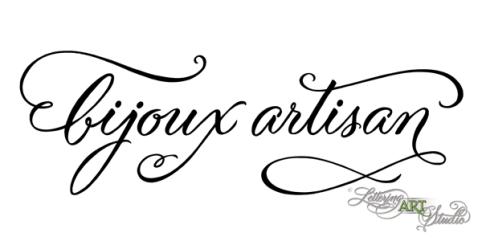 Logo by Lettering Art Studio, hand lettering, calligraphy, hand lettered logo