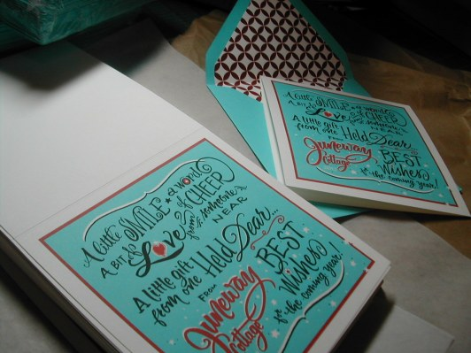 Hand Lettering, calligraphy ,retro chritsmas card, script lettering, cursive lettering, fancy lettering, Christmas card in calligraphy, turquoise and red christmas card