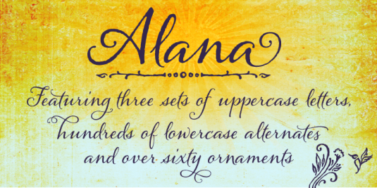 Calligraphy fonts by Laura Worthington, Alana  font, calligraphy fonts, cursive fonts, script fonts, wedding fonts, hand lettered fonts, best selling fonts, Most Popular fonts, top selling fonts, fonts for invitations, fonts for weddings