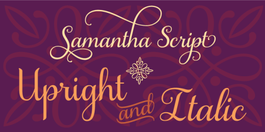 Calligraphy fonts by Laura Worthington, Samantha Script font, calligraphy fonts, cursive fonts, script fonts, wedding fonts, hand lettered fonts, best selling fonts, Most Popular fonts of 2012, top selling fonts, fonts for invitations, fonts for weddings