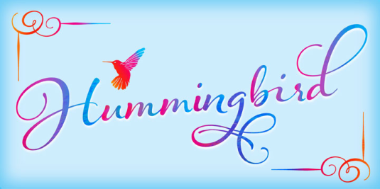 Calligraphy fonts by Laura Worthington, Hummingbird  font, calligraphy fonts, cursive fonts, script fonts, wedding fonts, hand lettered fonts, best selling fonts, Most Popular fonts of 2012, top selling fonts, fonts for invitations, fonts for weddings