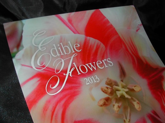 2013 Calendars, Edible flowers calendars, Belluccia font, calligraphy font, cursive font, fancy font, script font, fancy letters, top selling fonts, best selling fonts, most popular fonts, flower calendars, 2013 calendars with flowers
