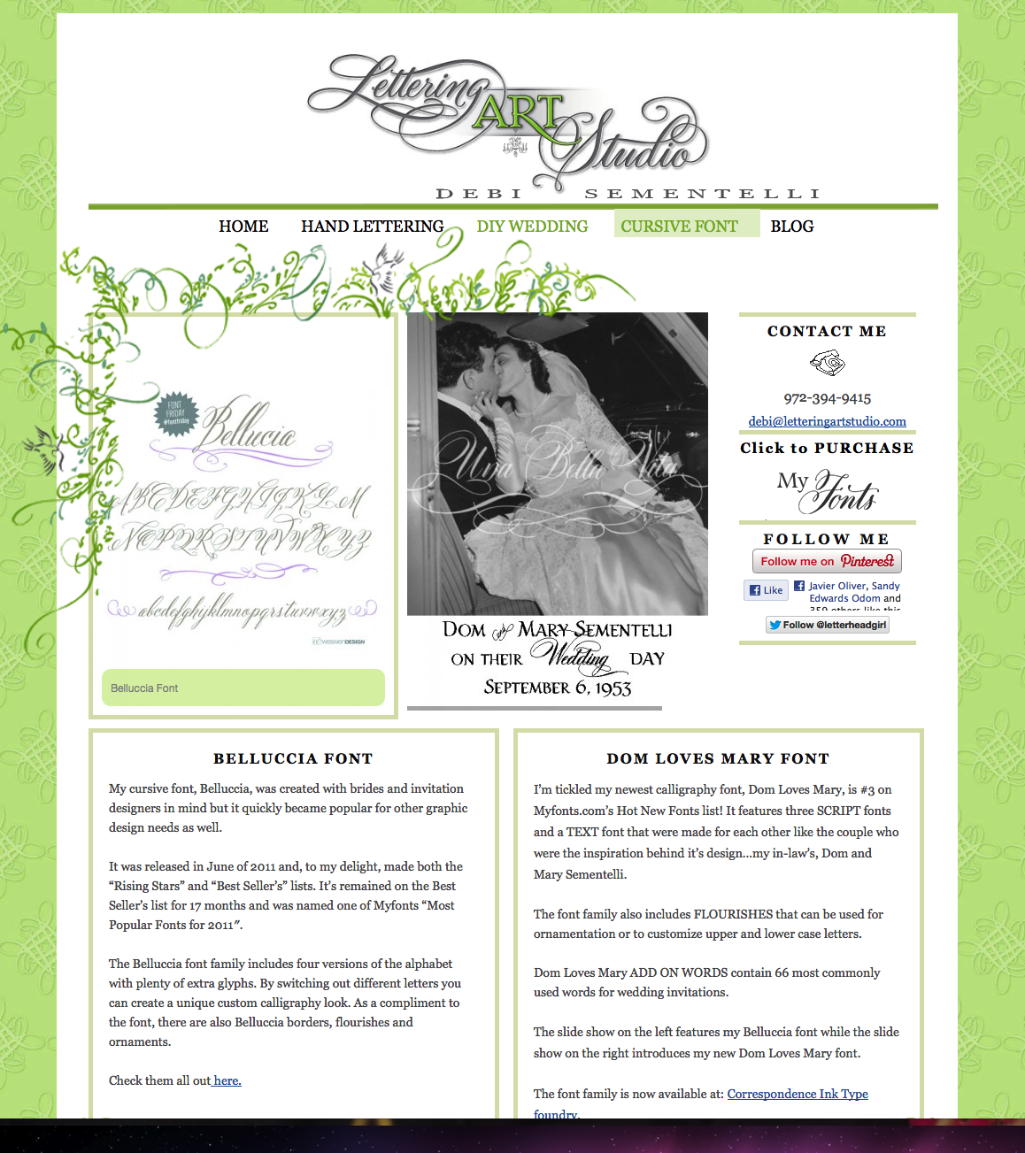 wedding fonts   Lettering Art Studio